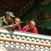 Boudhanath Monk Soldier