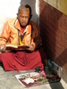 Boudhanath Monk With Amulets