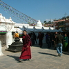 Buddhist Monks Boudhanath