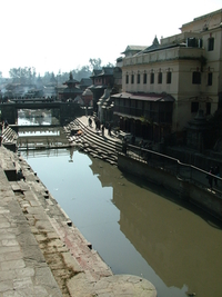 Pashupatinath Temple Bargmati River