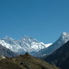 Trail Namche to Tengboche