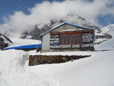 Ganga Purna View Lodge Snow