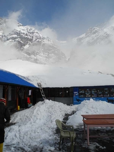 Machhapuchhre Base Camp View