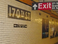 170th Street IND Concourse Line Station