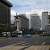 Street Crossing Near The Office Of Bank Syariah Mandiri