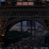 Beginning Of Night At The Eiffel