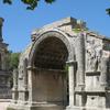 Roman Site Les Antiques Of Glanum With The Mausoleum