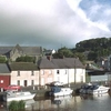 View Of Graiguenamanagh And The Church From The River Barrow