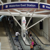 Waterloo East Station From Waterloo Station