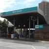 Bow Church DLR Station Entrance