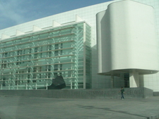 Another View Of Barcelona Museum Of Contemporary Art