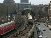 Berlin Hackescher Markt Station