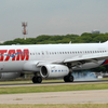 A TAM Airlines Airbus 320 At The Airport