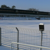 The Mommsenstadion In Winter