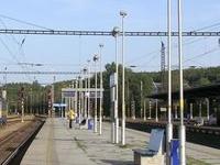 Praha-Libeň Railway Station