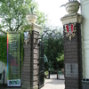 The Hortus Botanicus Entrance