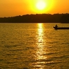Evening At Sasthamcotta Lake
