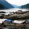 Salween River At Mae Sam Laep