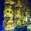 Lhalung - Gilded Wooden Figures