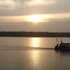 Sunrise At Valandhar Revu Near Narsapur