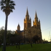 St Peters From The Grounds Of The Adelaide Cricket Ground