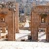 6th Century Propylaeum Church In Jerash - Jordan