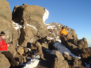Touch the Snow on Kilimanjaro Peaks Photos