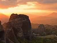 Sunset Meteora Tour