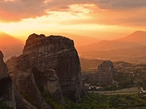Sunset Meteora Tour Photos
