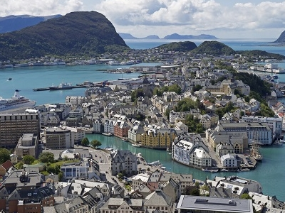 Aalesund Overview - Norway