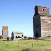 Abandoned Grain Elevators In Neidpath