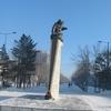 Abdirov Statue Karaganda