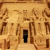 Abu Simbel Temple Of King Ramses At Aswan