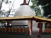 A Chorten In Enchey Monastery In Gangtok