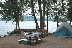 Moffitt Beach Campground