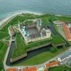 Aerial Photo Of Kronborg Castle