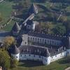 Aerialphotography Of Kobersdorf Castle, Austria