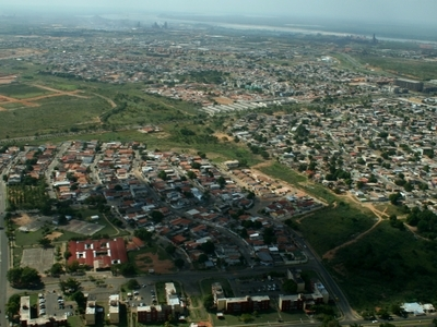 Aerial View Of The Modern Planned Part Of Guayana City
