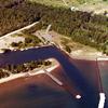 Aerial View Of The Harbor At Big Bay