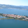 Aerial View Of Lindau Island