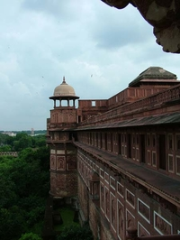 Agra Fort Ramparts