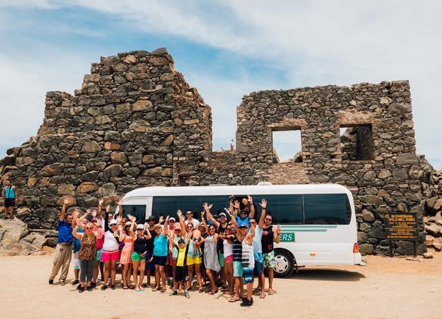 Aruba Cruise Passengers Half Day Tour Photos