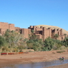 Ait Benhaddou Along River Bank