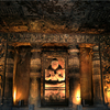 Ajanta Caves Inside View