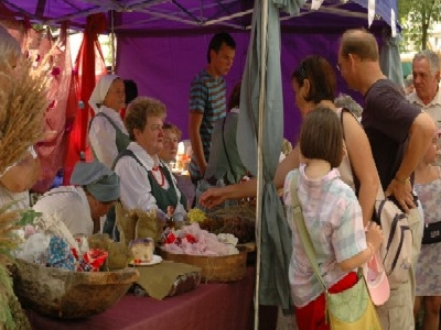 A Large Summer Fair with the Lapska Newspaper