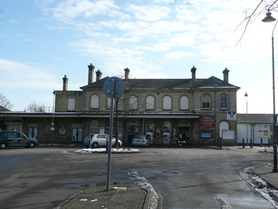 Aldershot Rail Station