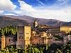 Alhambra Arabic Fort In Granada - Andalusia Spain