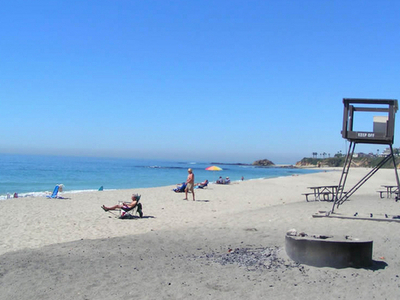 Aliso Creek County Beach