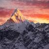 Ama Dablam Peak In Nepal