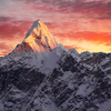 Ama Dablam Peak View